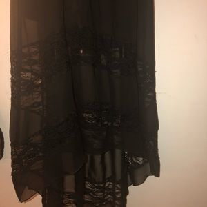 Forever 21 Dresses - gothic, black high low dress